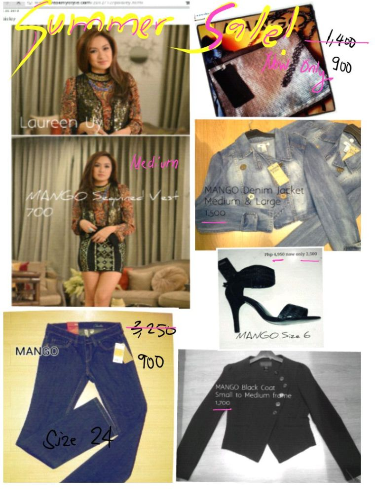LAUREEN UY on  MANGO Sequined Vest